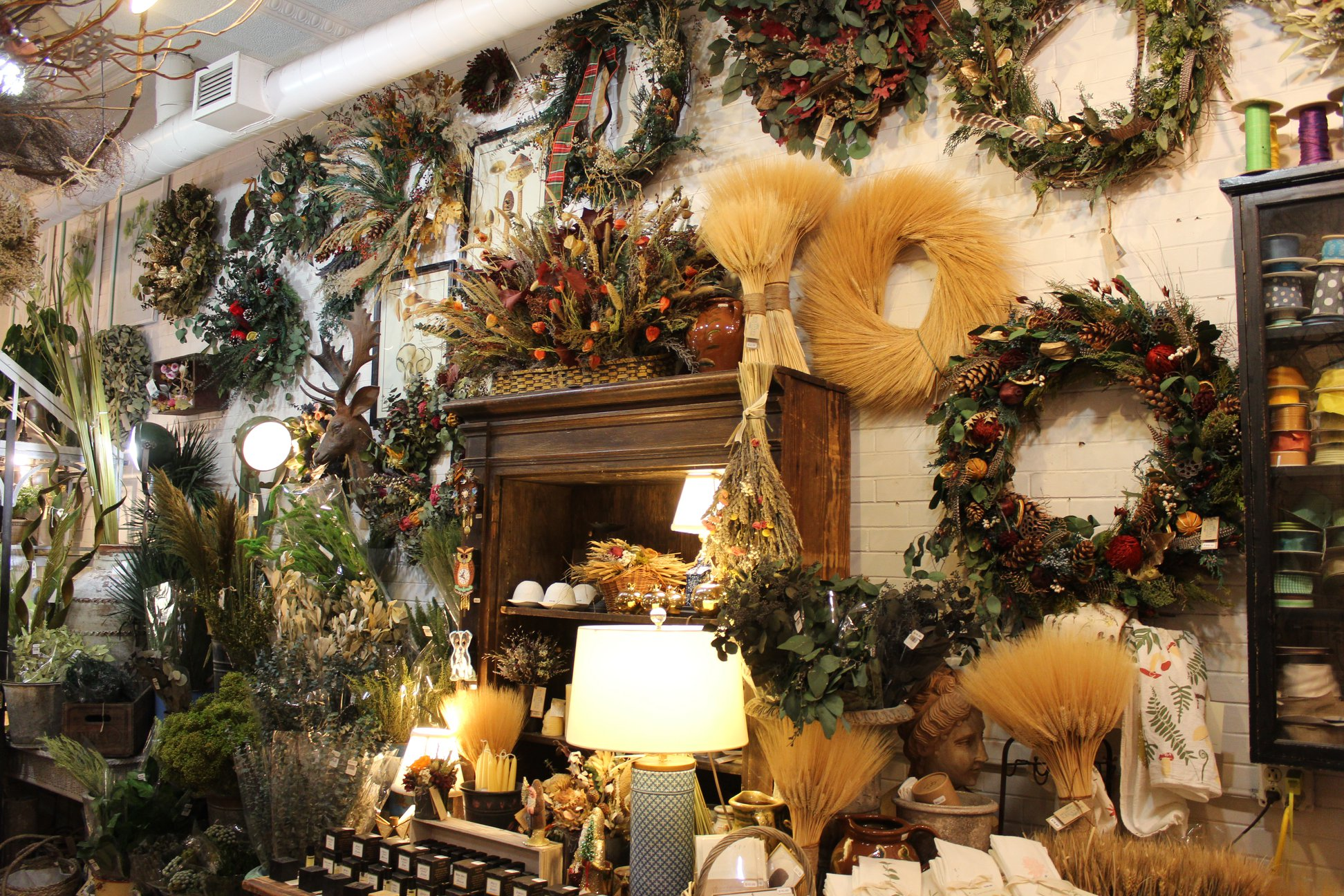Roxanne's Dried Flowers - If you start celebrating Christmas the day after Thanksgiving, be sure to stop by Roxanne's Dried Flowers to find unique wreaths, swags, and other arrangements to deck the halls of your home!