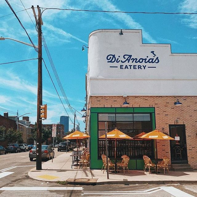 We're so close to outdoor dining weather we can taste it! Where are your favorite spots to eat al fresco in the #StripDistrict? . . 📸 by @dianoiaseatery
