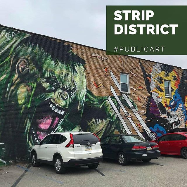 Want to get some exercise AND get cultured this weekend? @pghrunningtours is hosting a public art tour of the #StripDistrict on Saturday! 🏃🏃‍♀️