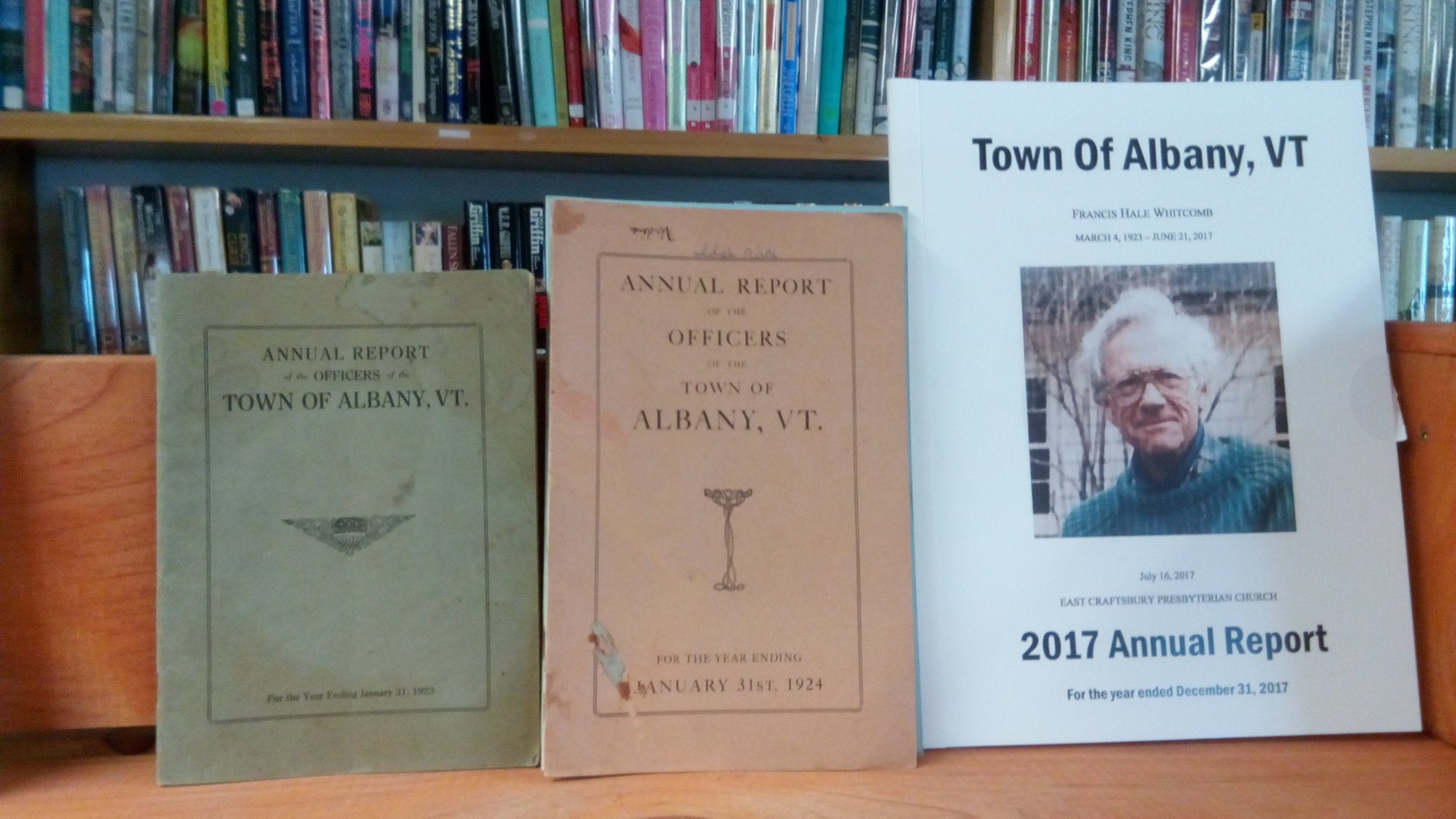 Just a few books in our Local History Selection.