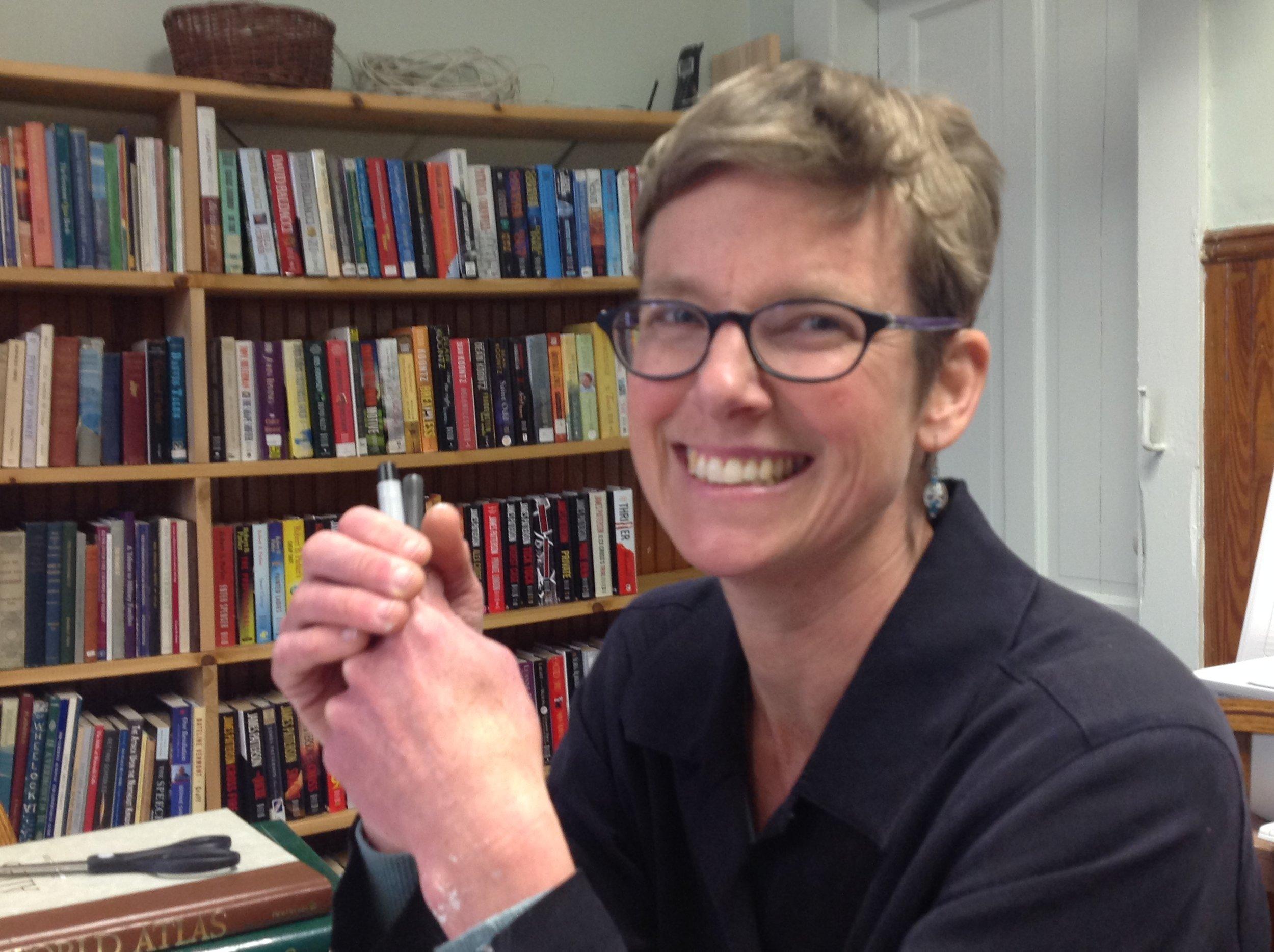 Kristin Urie, Librarian