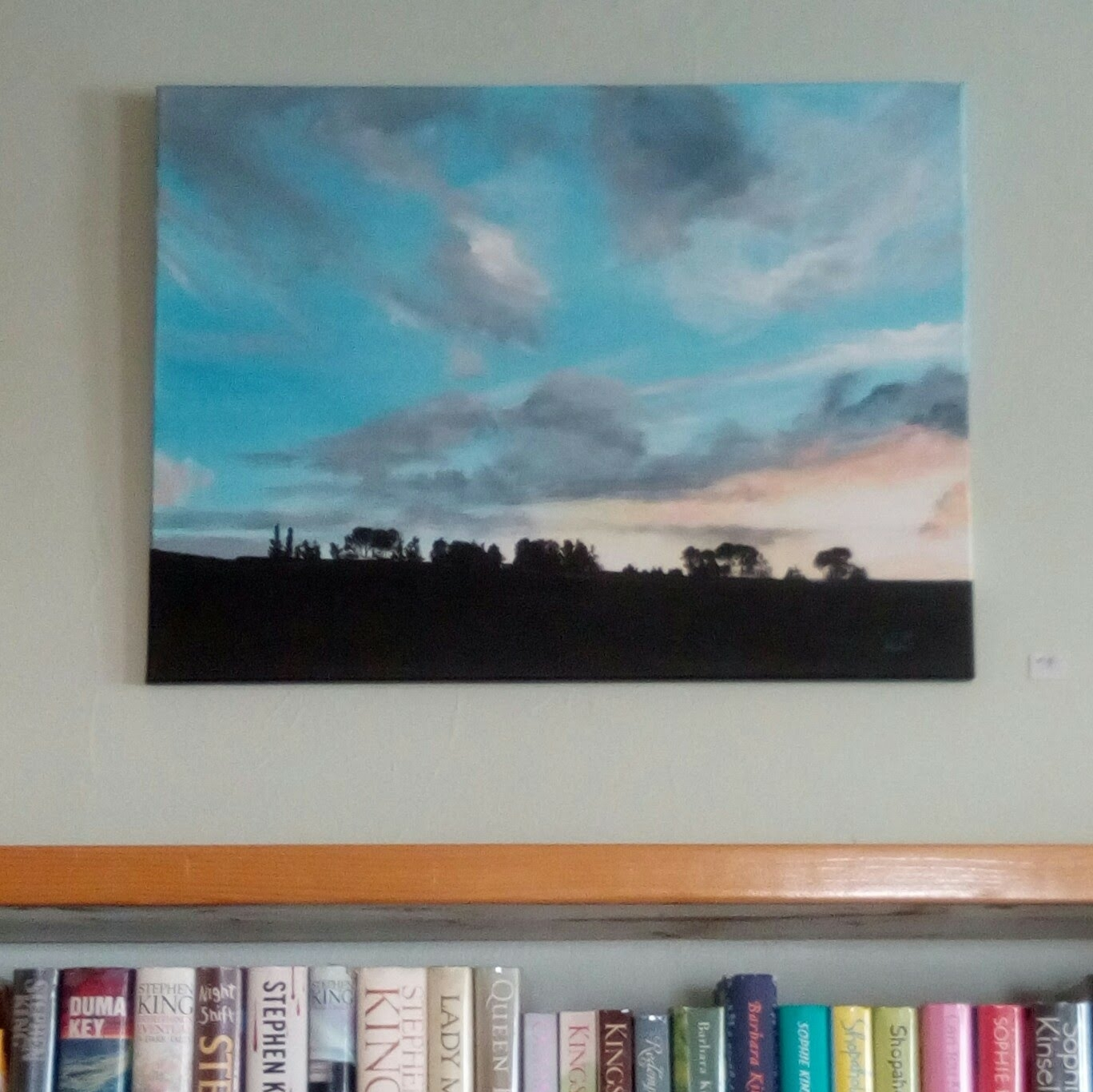 Judy Lowery's paintings: on display for three months...stop in to see us!