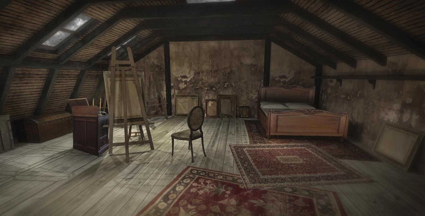 COLBY'S STUDIO (REVERSE) - 3D RENDERING