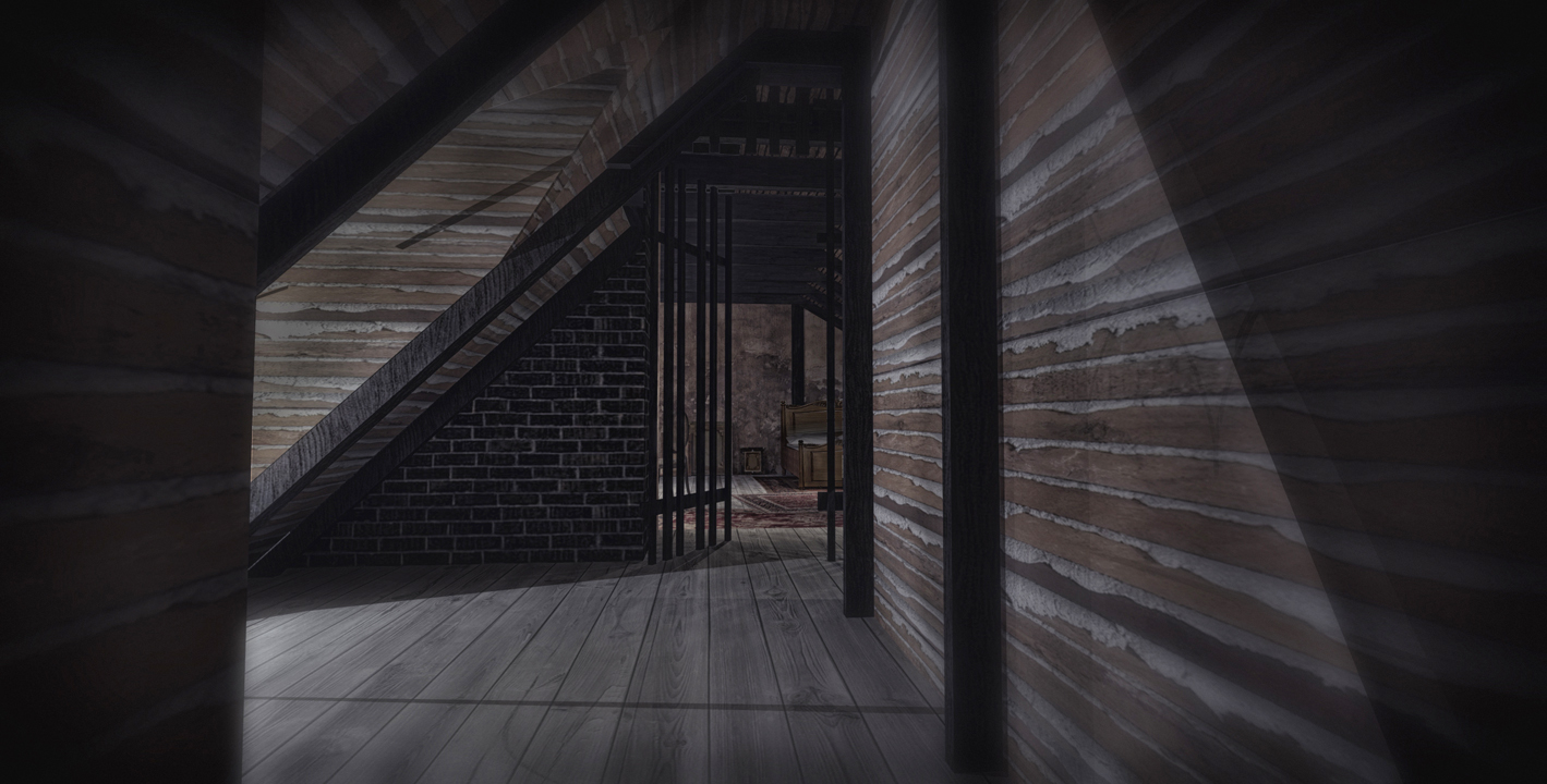 COLBY'S STUDIO (APPROACH) - 3D RENDERING