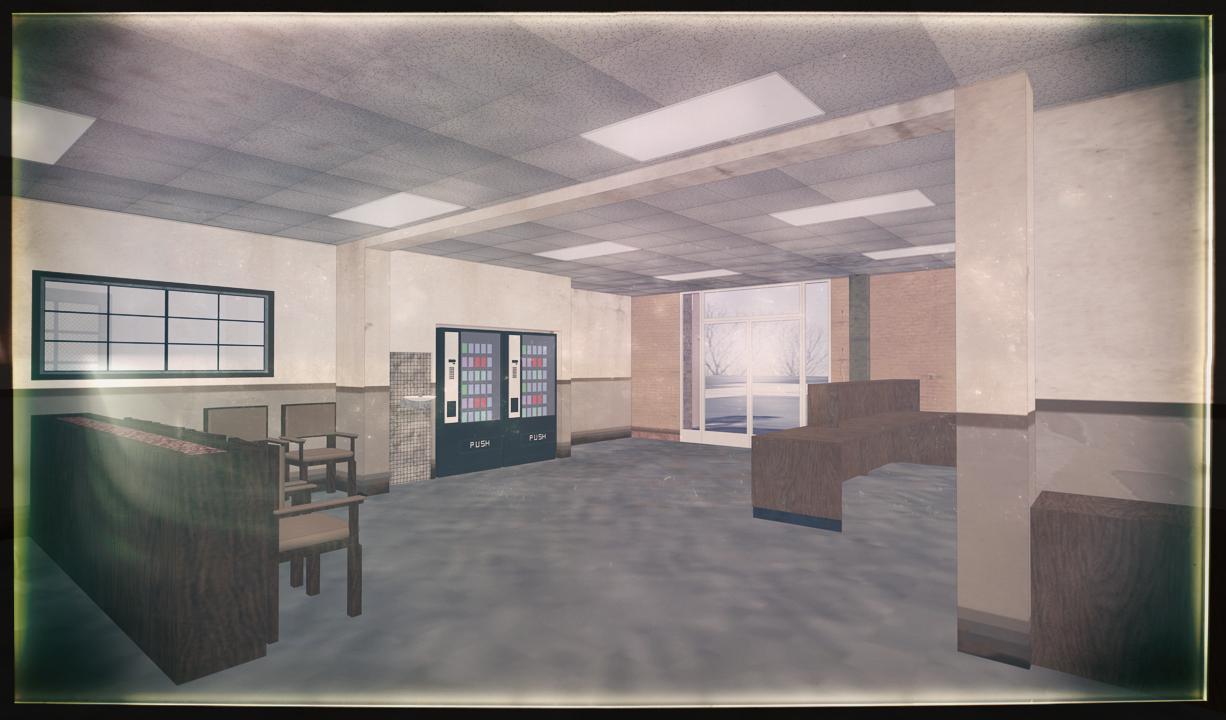 'CADI' ENTRY VIEW - 3D MODEL