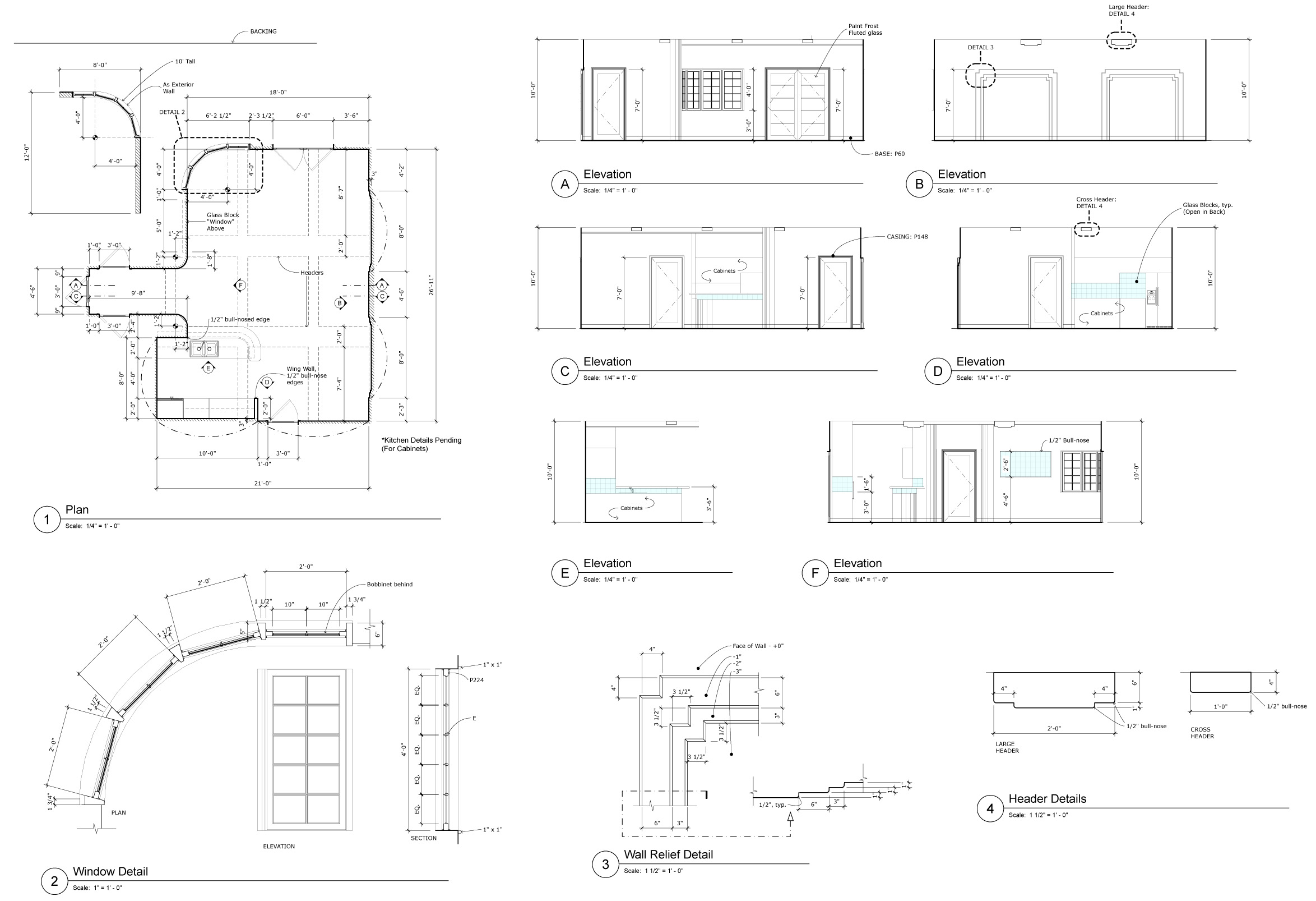 ROGELIO'S CONDO - WORKING DRAWING