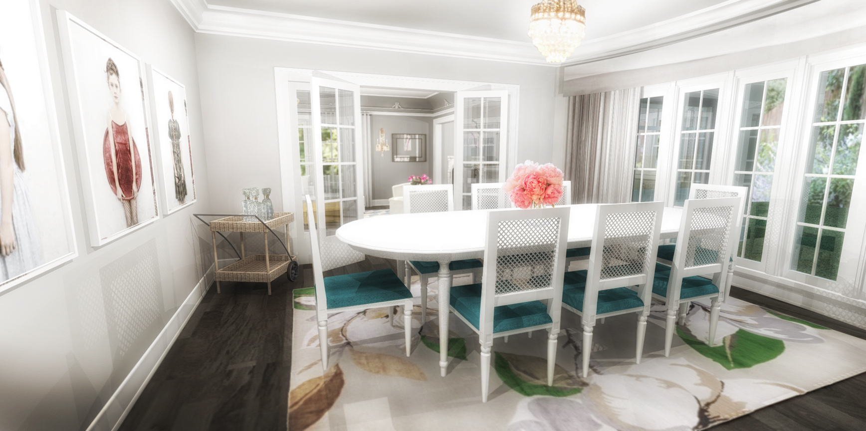 FORMAL DINING ROOM - RENDERING