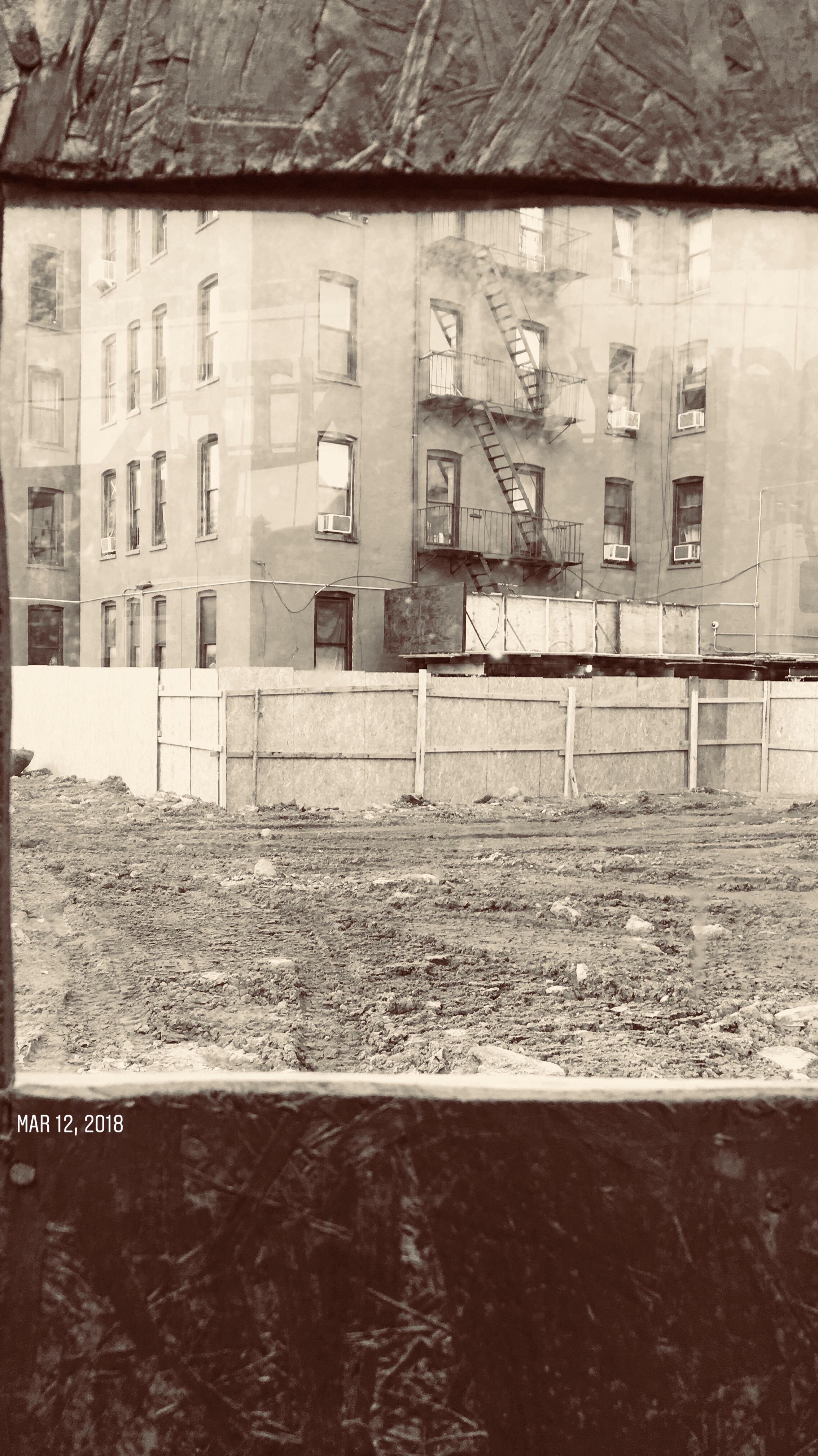 construction site on Flatbush Avenue