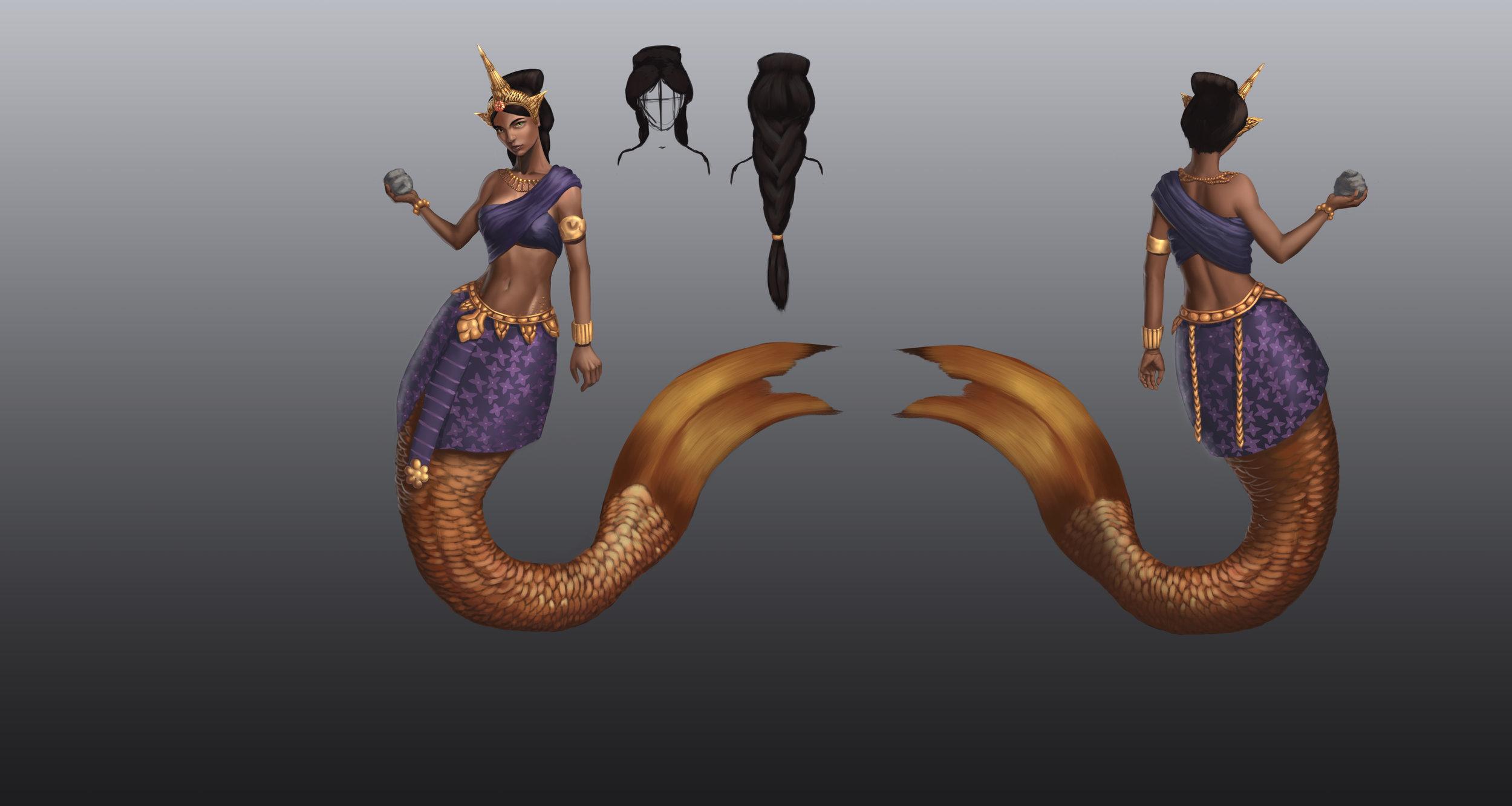 Suvannamaccha the Golden Mermaid