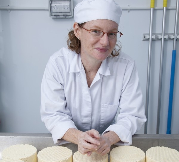 Kristen Schnepp - Cheesemaker Kristen Schnepp set up Gringa Dairy under a railway arch in Peckham in 2013 after realising that cheese was a lot more fun than corporate life. She makes a range of authentic Mexican cheeses, such as  Queso Fresco (a kind of cross between feta and halloumi), Queso Oaxaca (a great melter) and Queso Chihuahua (Mexican mozzarella), using organic milk from Kent.