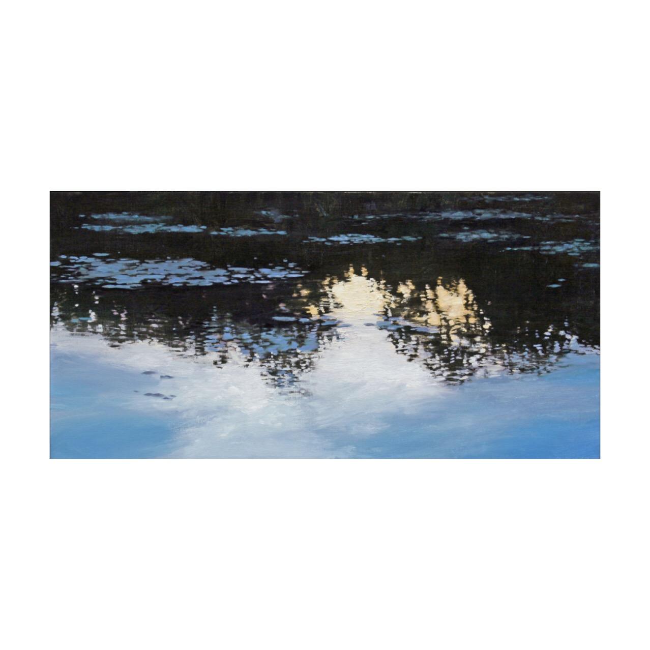 Shimmering Light on Lake Okinoka