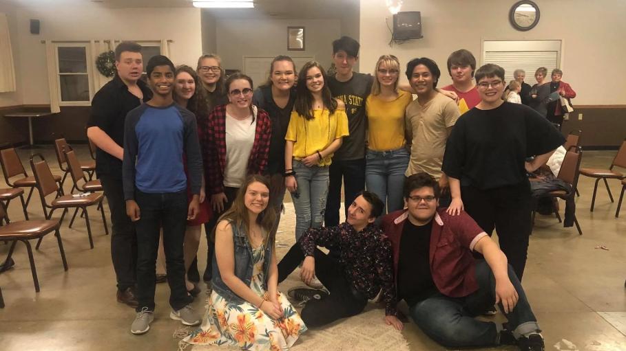 TTCD: Teen Theatre Company of Danville  4:00 p.m.