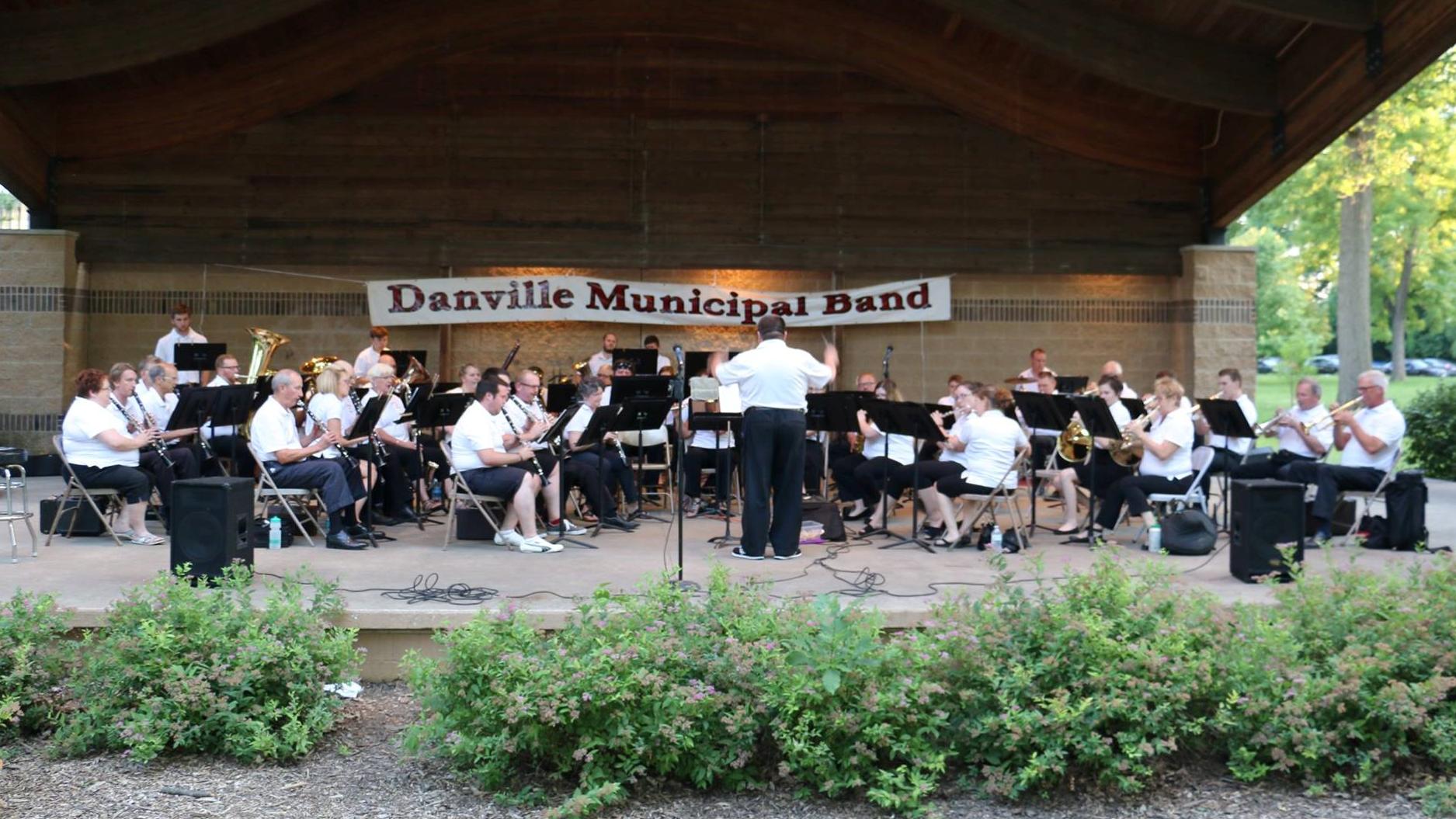 Danville Municipal Band  6:30 p.m.