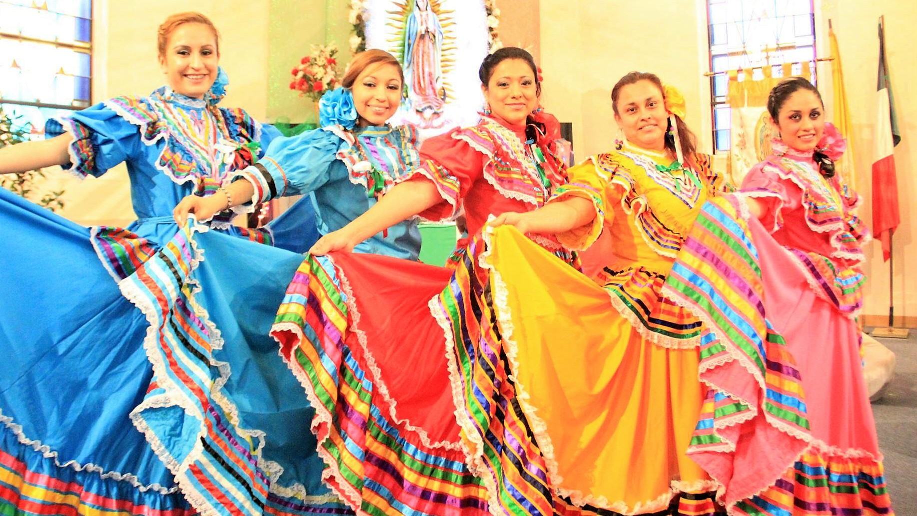 Folkloric Dance Group  11:30 a.m.
