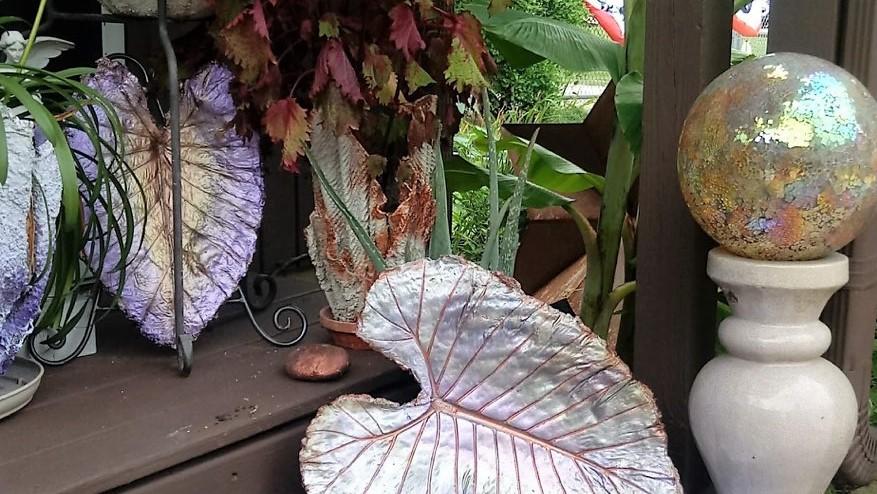 Garden Art by Elizabeth Sadowski Georgetown, IL Booth #47