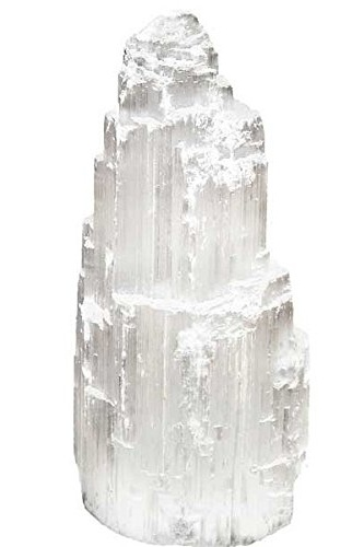 Place a selenite lamp in your busiest room.