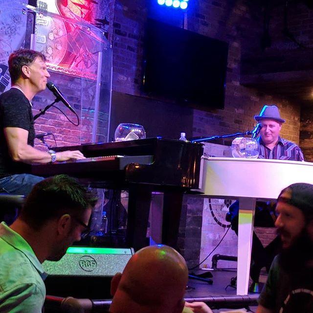 FREE dueling piano show tonight at Copper Blues Live in Brea. 9pm-Midnight. . . . #dontstopbelieving #duelingpianos #orangecounty #livemusic #nocover #breaimprov #copperbluesbrea #ocmusic #downtownbrea #fullerton #yorbalinda #anaheimconventioncenter #momsnightout #ptamoms #fundraisingideas #silentauction #liveentertainment #fridaynight #friyay #theyhavefood