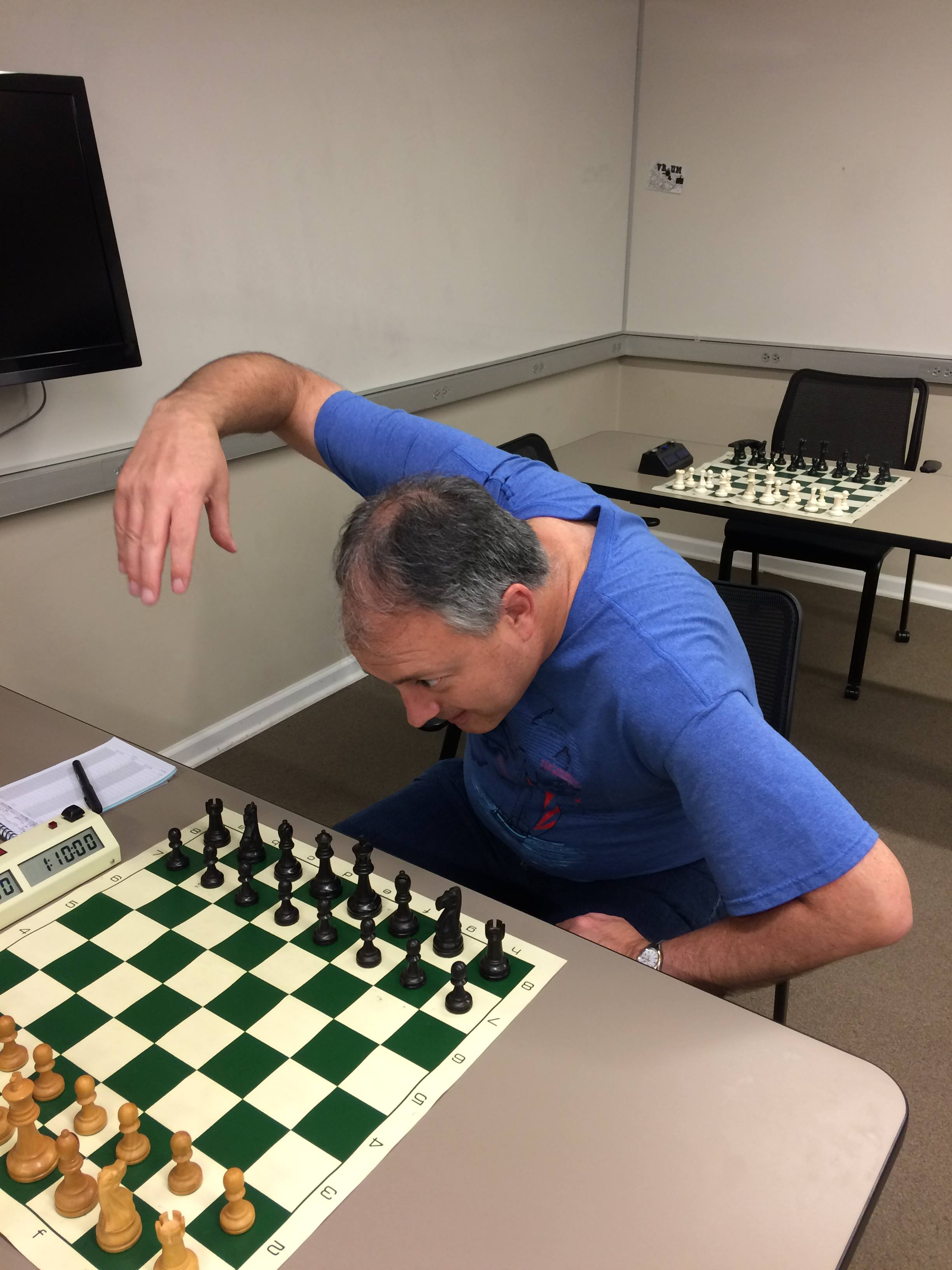 When you see a Good Move...Starring Bill Melvin.Photo Credit SCott Varagona