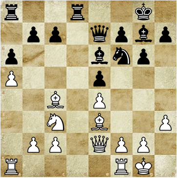 White's Move: - What Should the Plan Be?