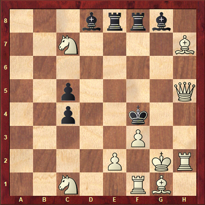 White to Play: - Mate in Two
