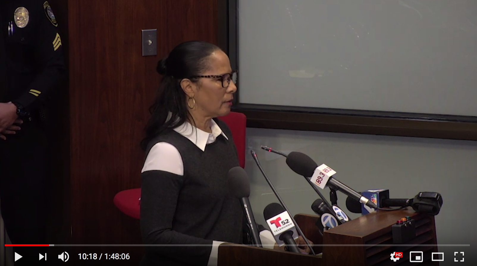 At the March 5th, 2019 council meeting, P4H member Hazara Price speaks in support of the rent cap and just-cause evictions. Click the photo to hear her address the council (view at about 8:50 mark of the video).