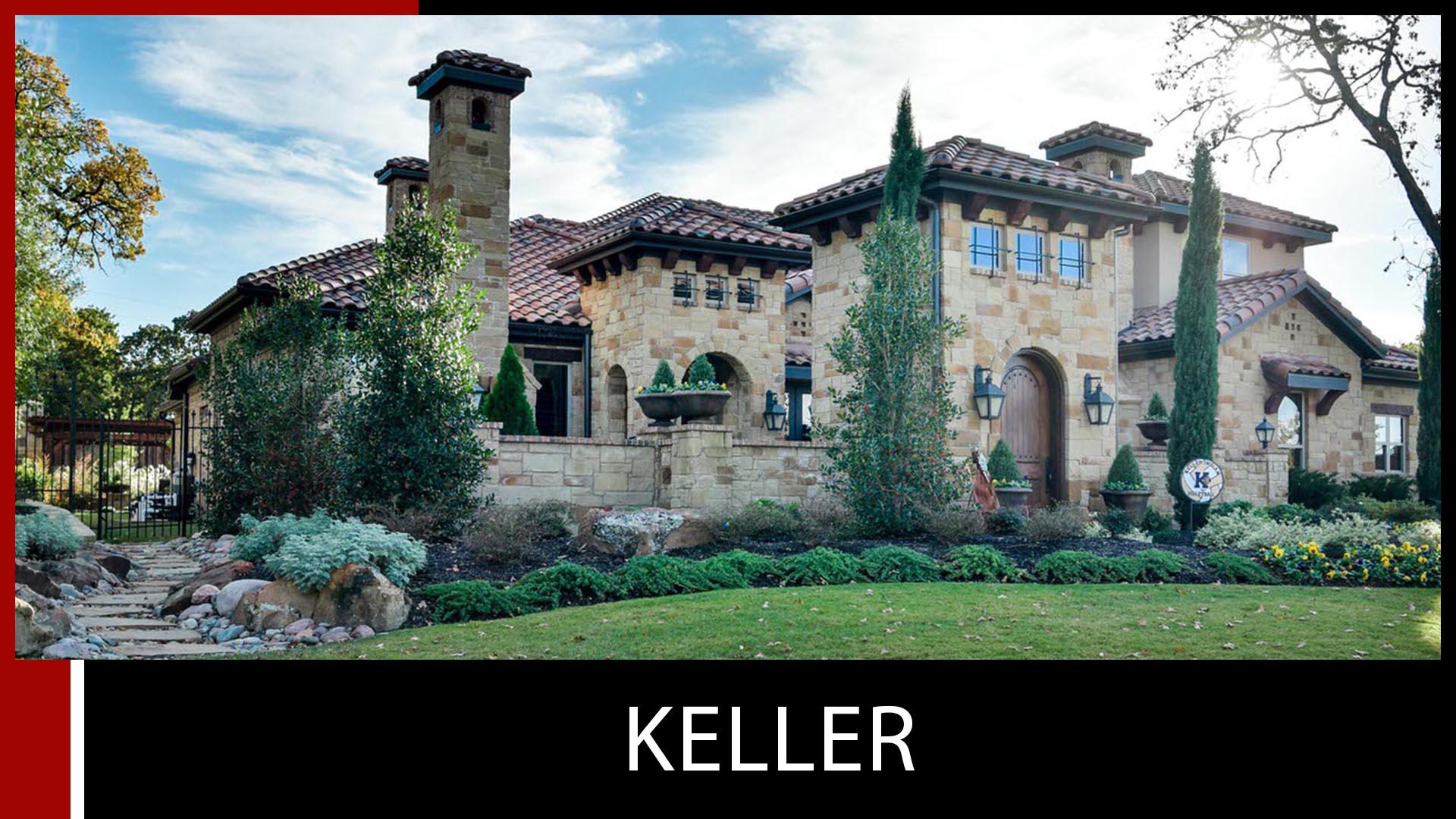 custom homes builder keller dfw