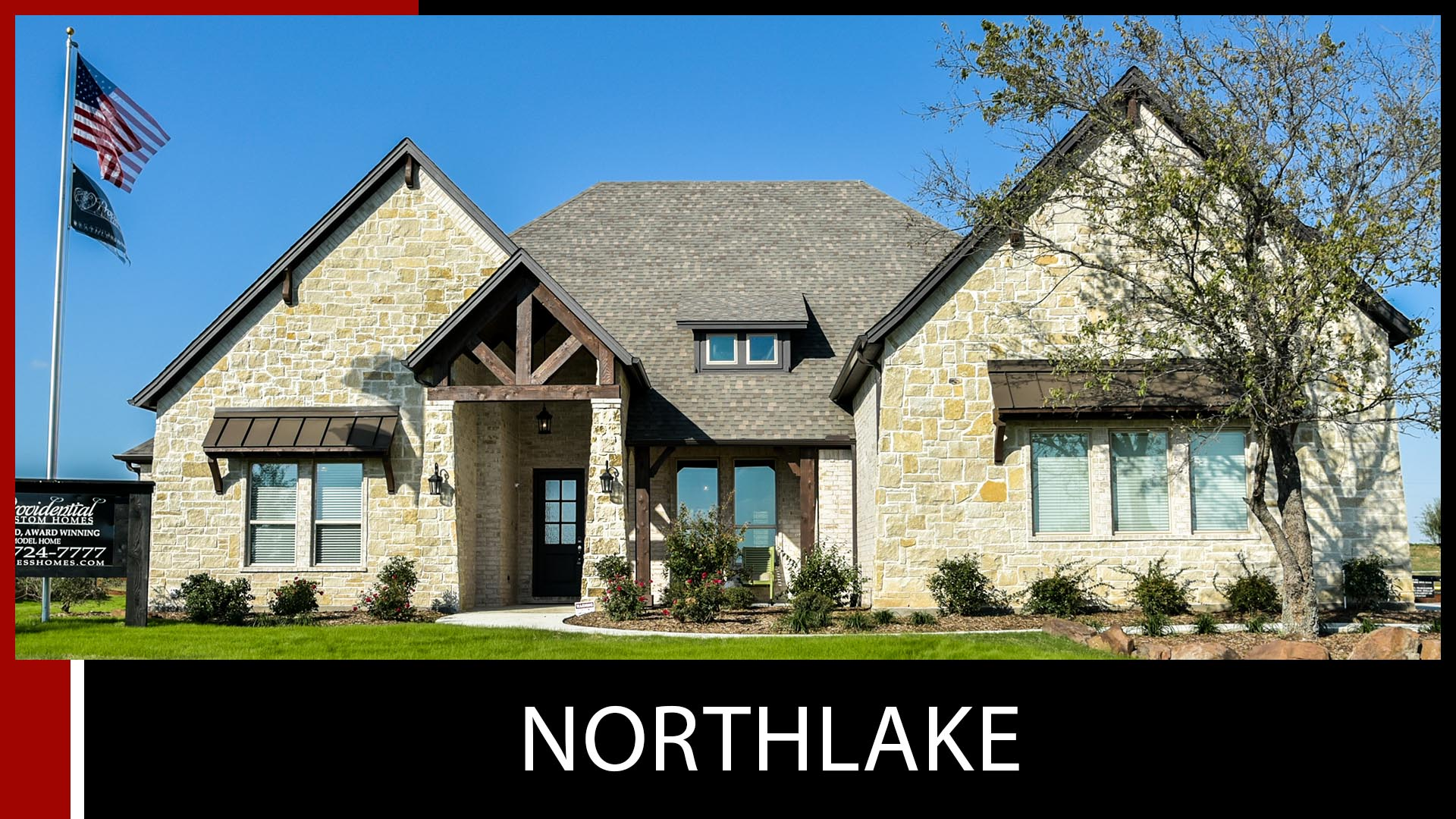 custom home northlake