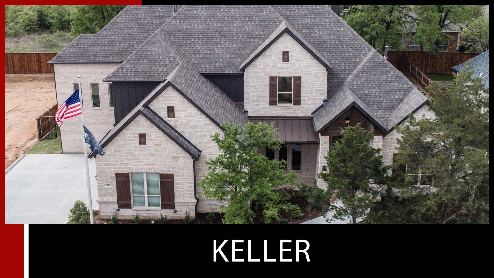 custom home keller dfw
