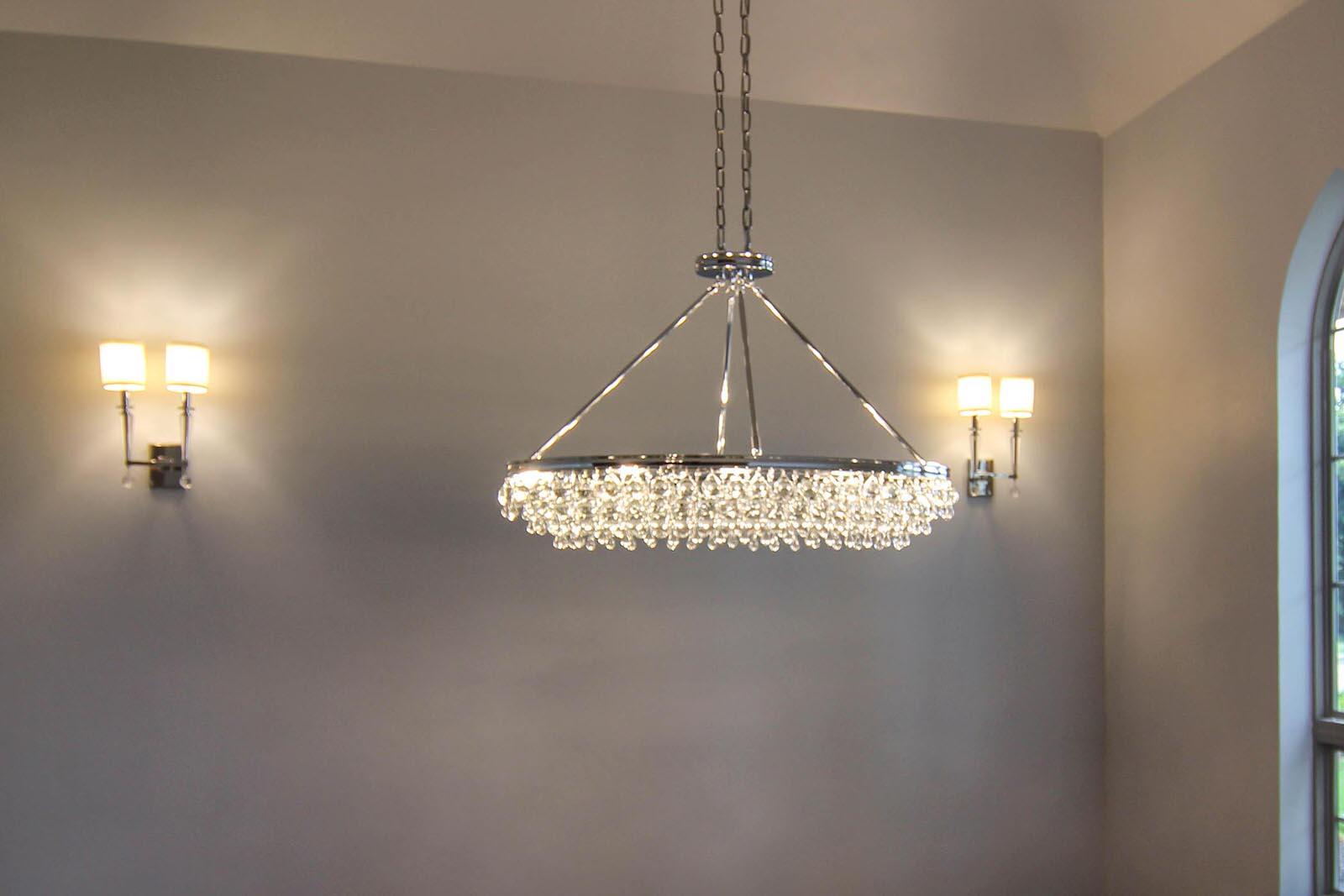 transitional light fixture