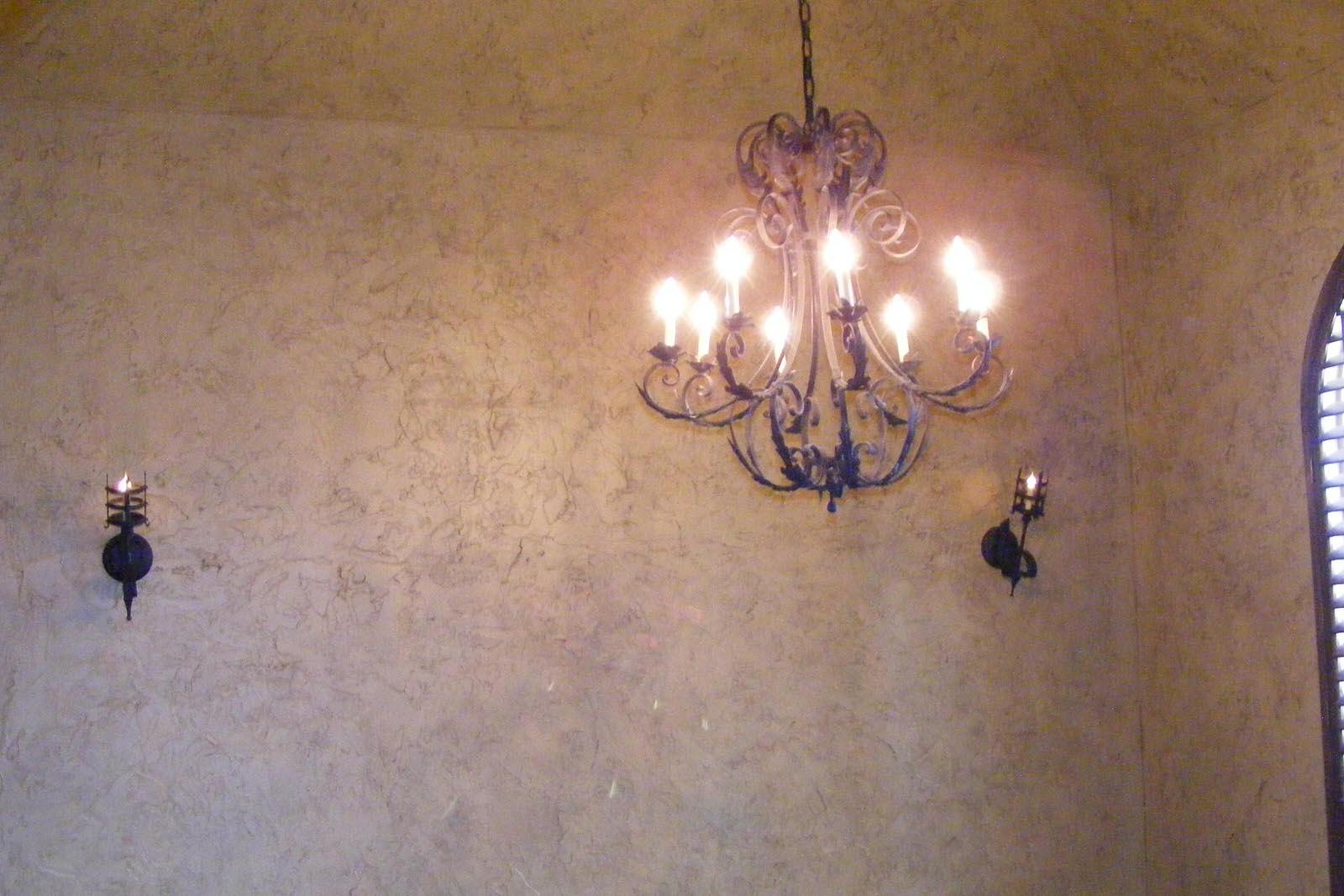 old world light fixture