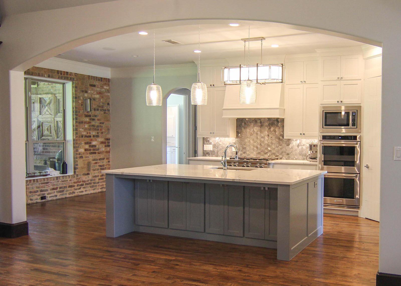 Total home renovation kitchen dfw