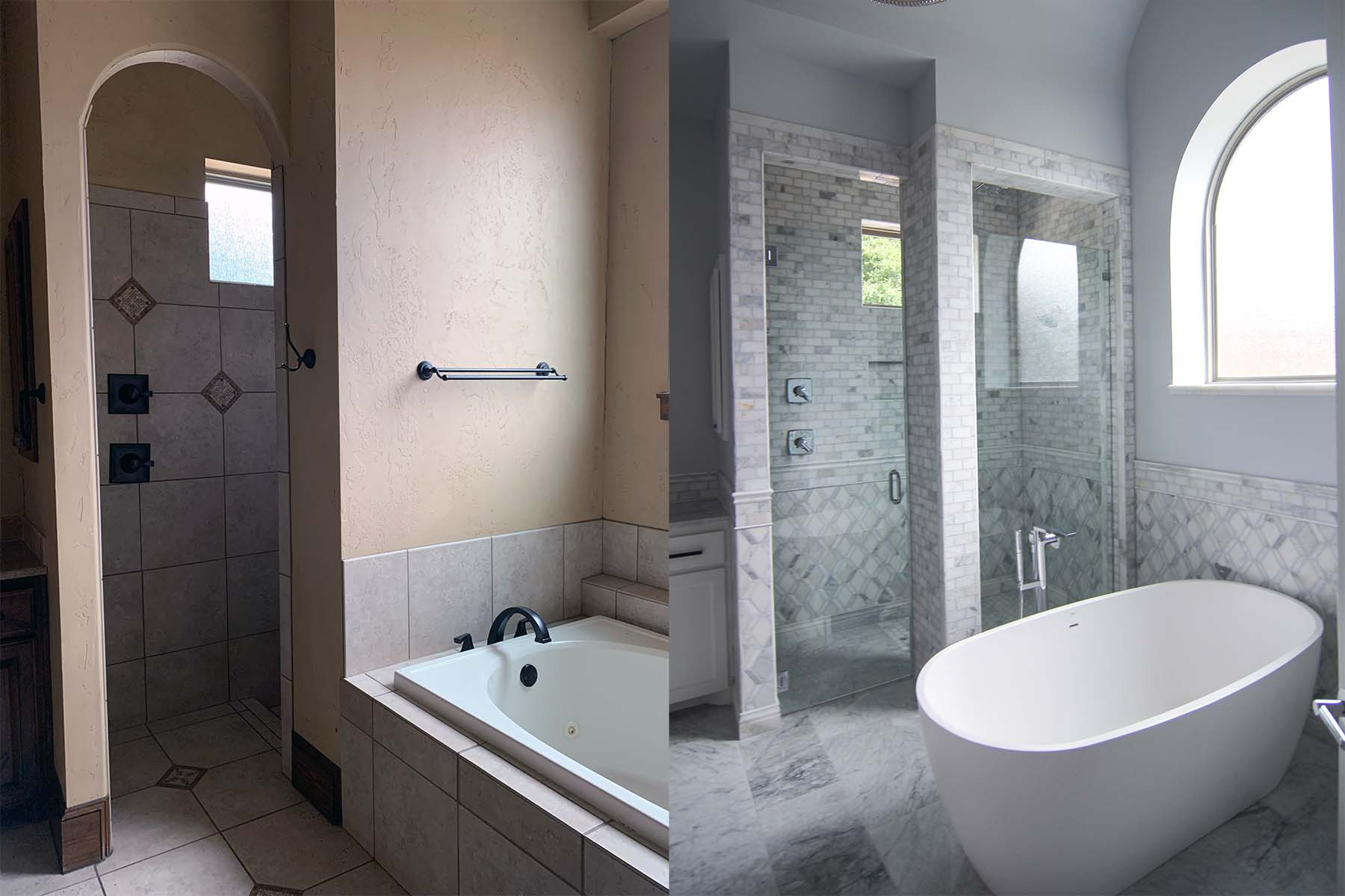 Bathroom remodel DFW, Keller, Southlake, Colleyville