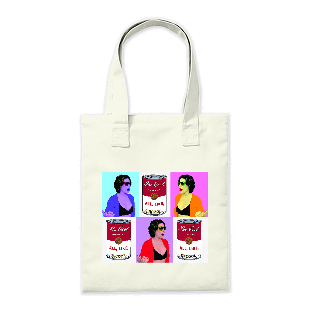 Countess Luann Pop Art  Tote Bag