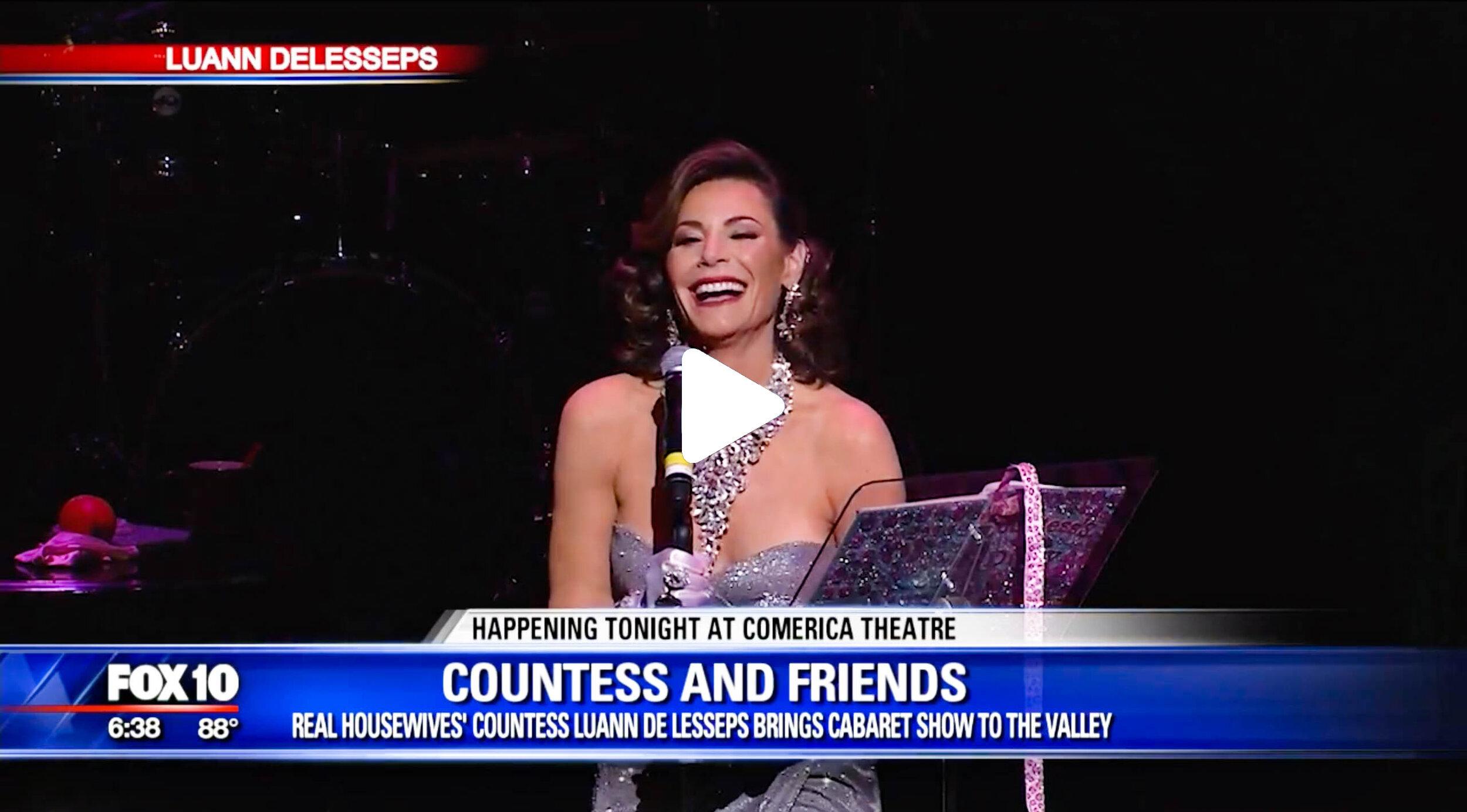 Countess and Friends live on FOX 10 Phoenix, AZ.