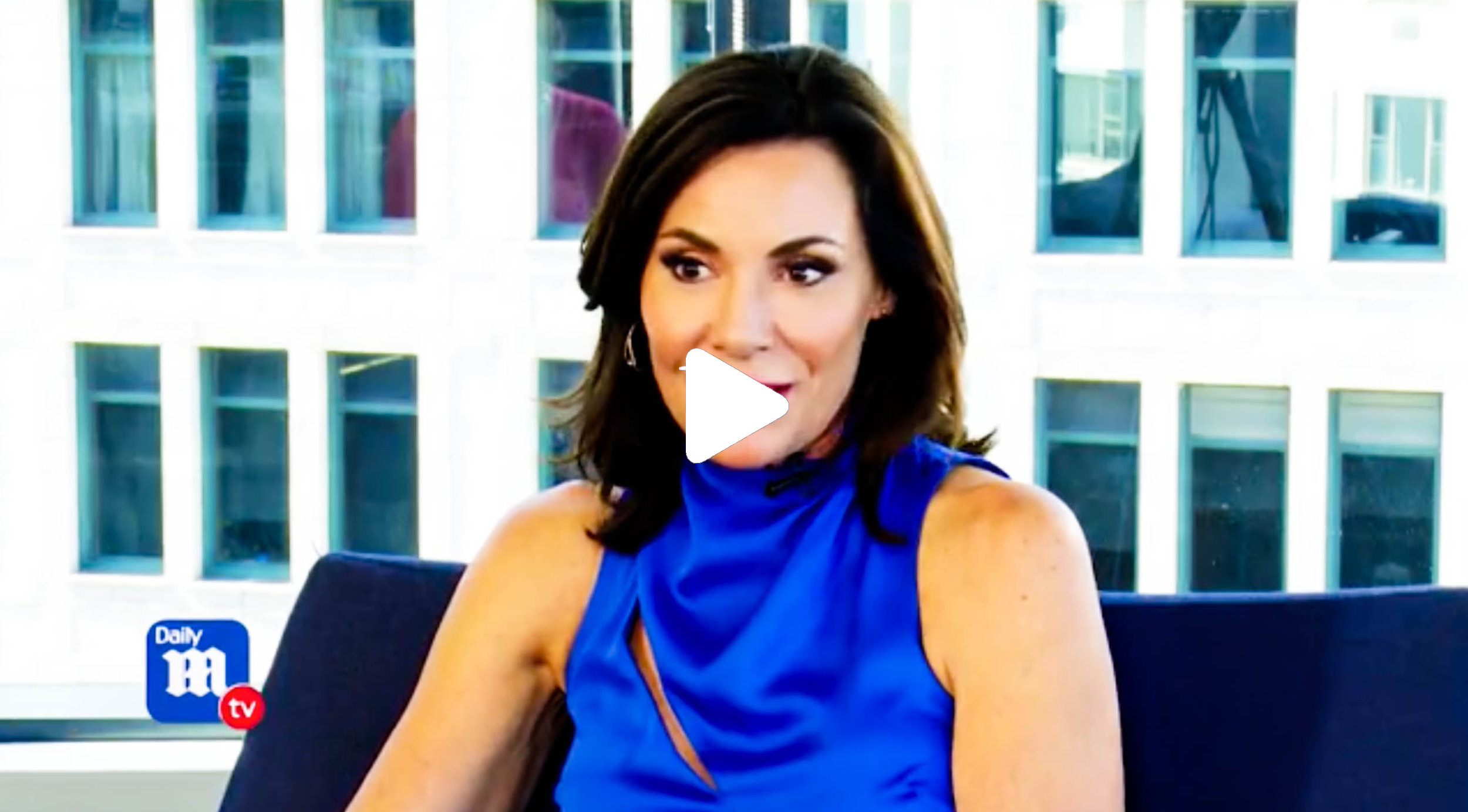 Luann de Lesseps talks sobriety and Bethenny's departure on DailyMail TV.
