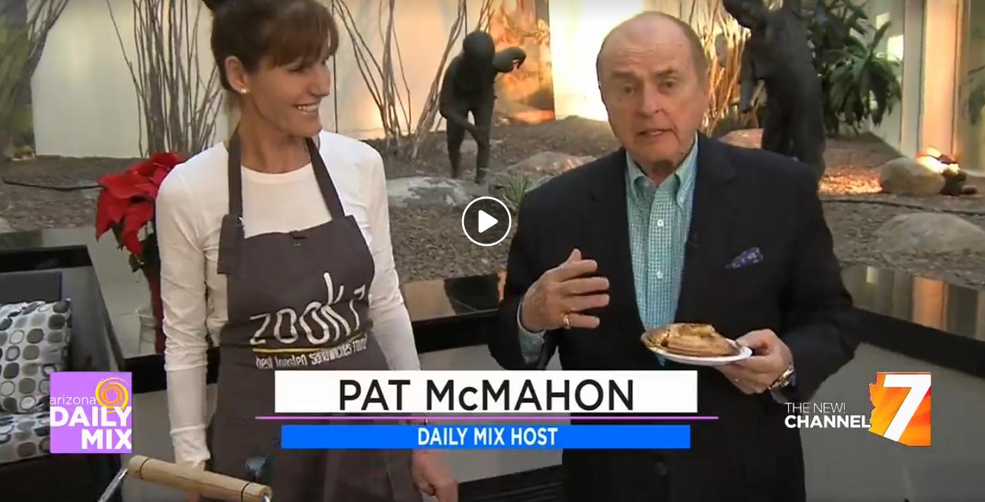 Arizona Daily Mix with Pat McMahon Dec 15, 2017  Zookz owner, Carole Meyer with Pat McMahon