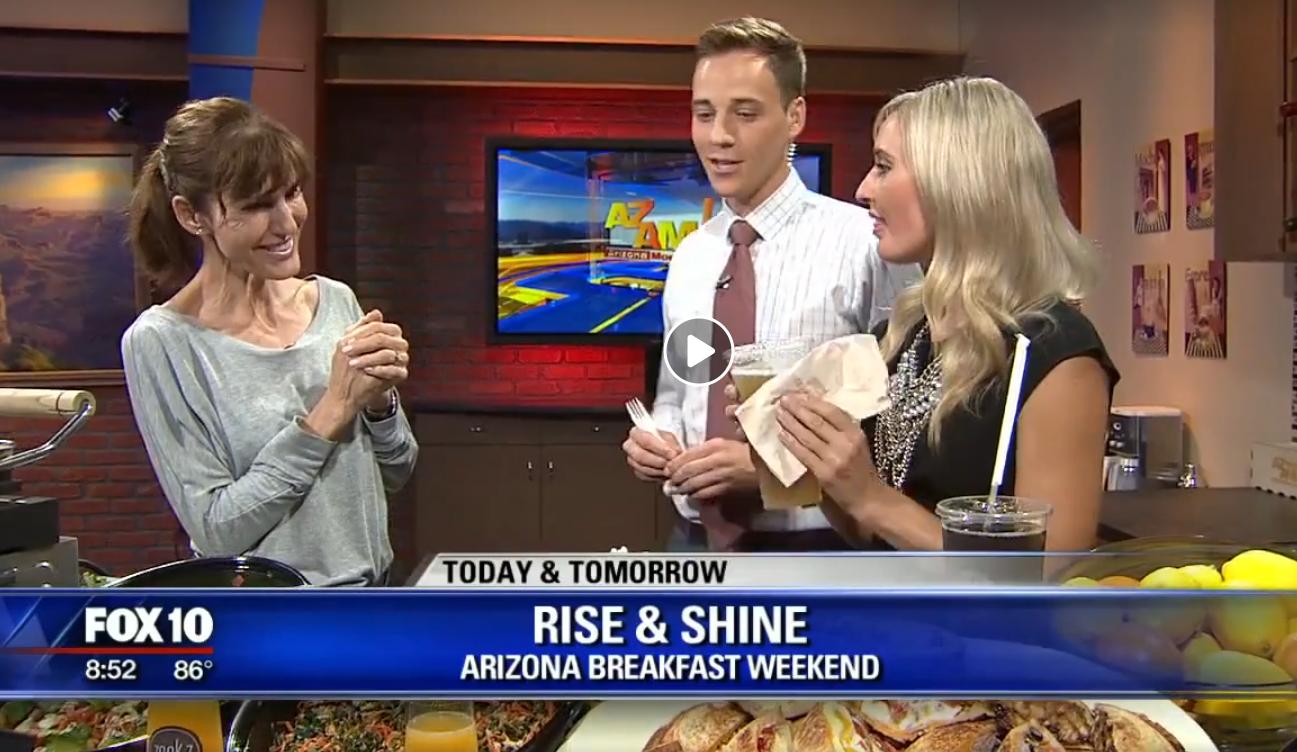 Fox 10 Rise & Shine Jul 29 2017  Zookz - Arizona Breakfast Weekend