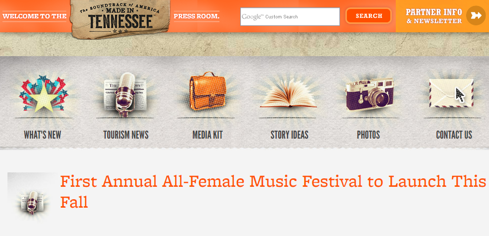 Tennessee Vacation:First Annual All-Female Festival to Launch This Fall  -