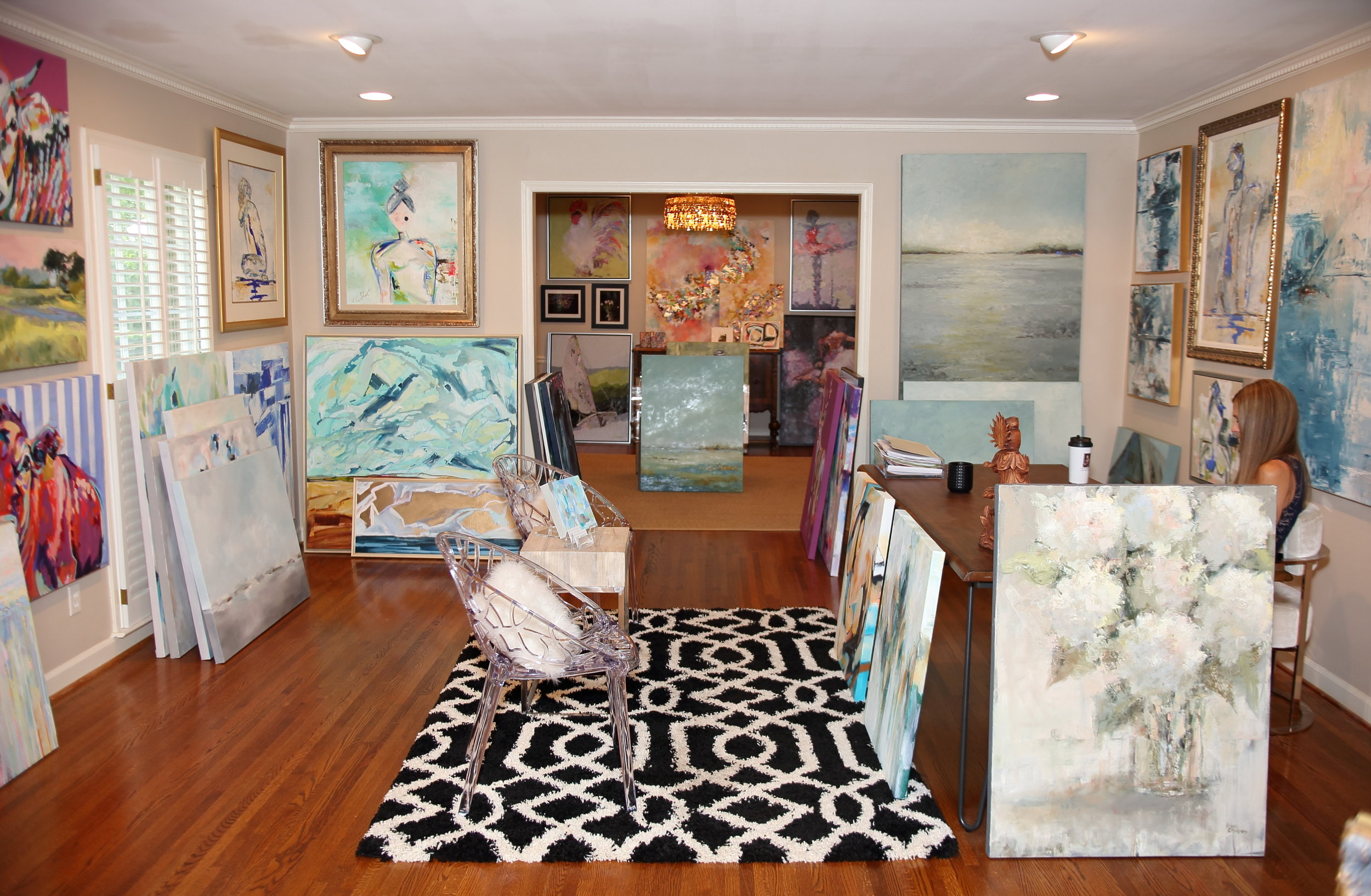 Art Studio After paint lighting furnishings.jpg