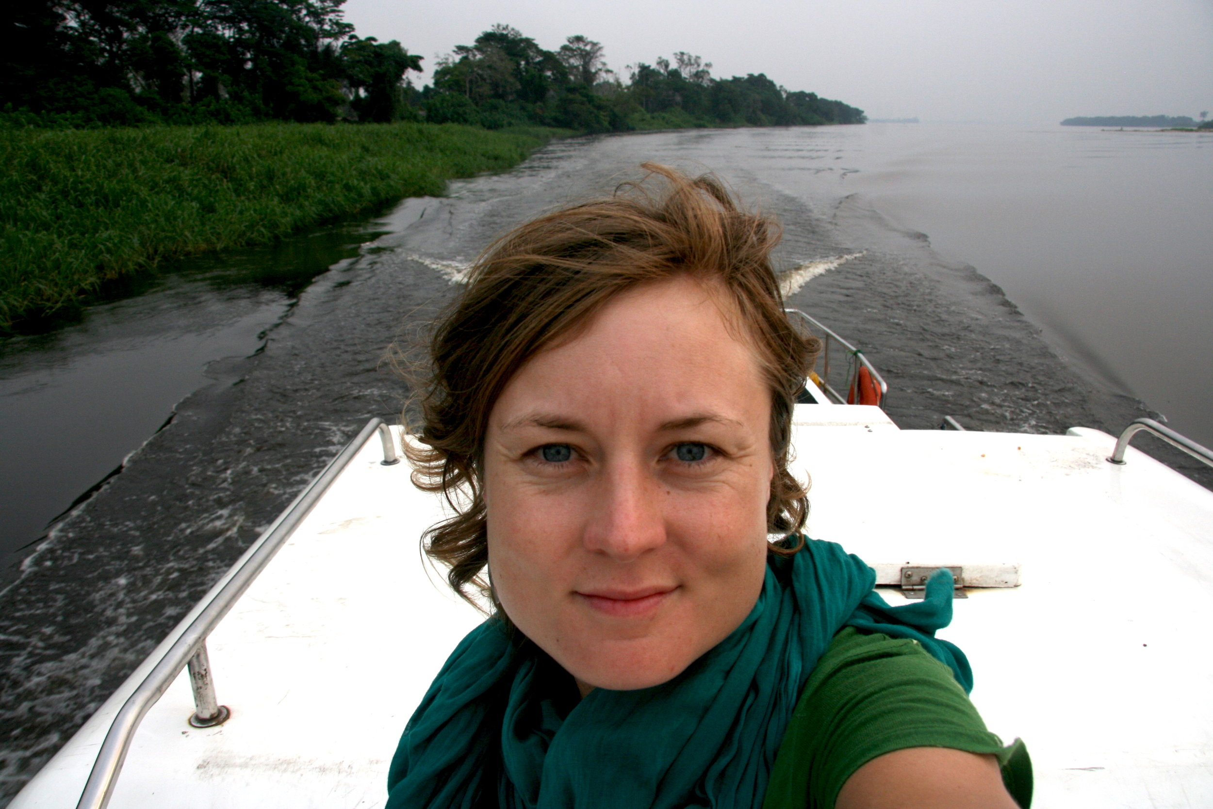 On the Congo River in 2012