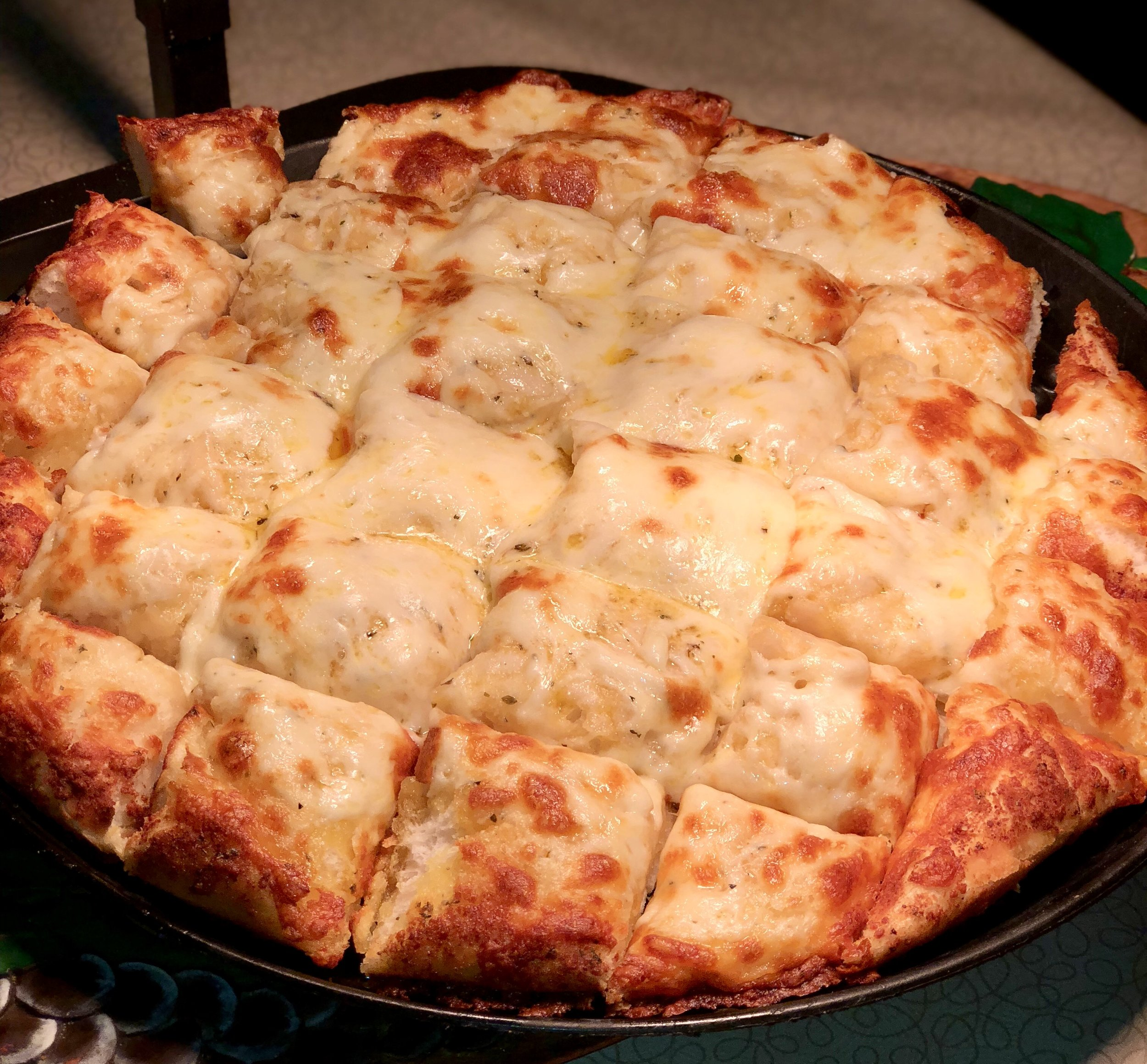 CHEESY BREAD.