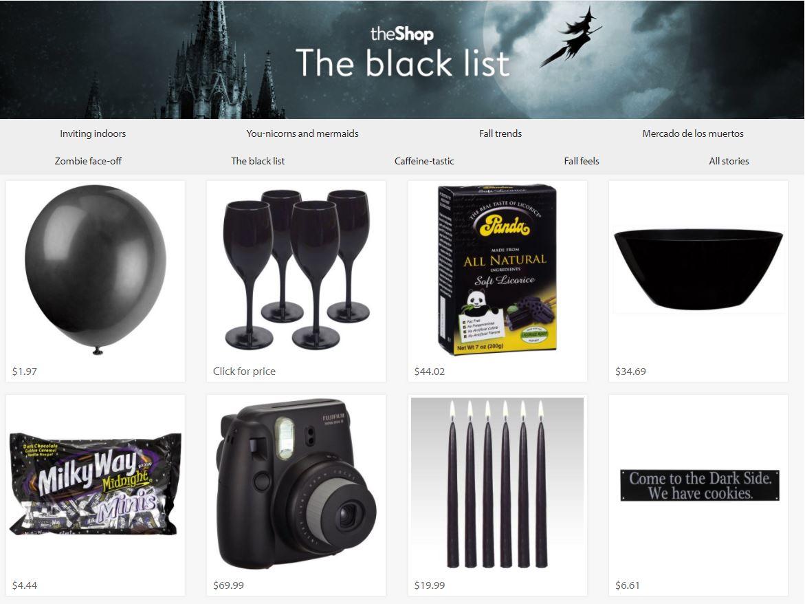 - Walmart.com: THE SHOP, GIFT GUIDE