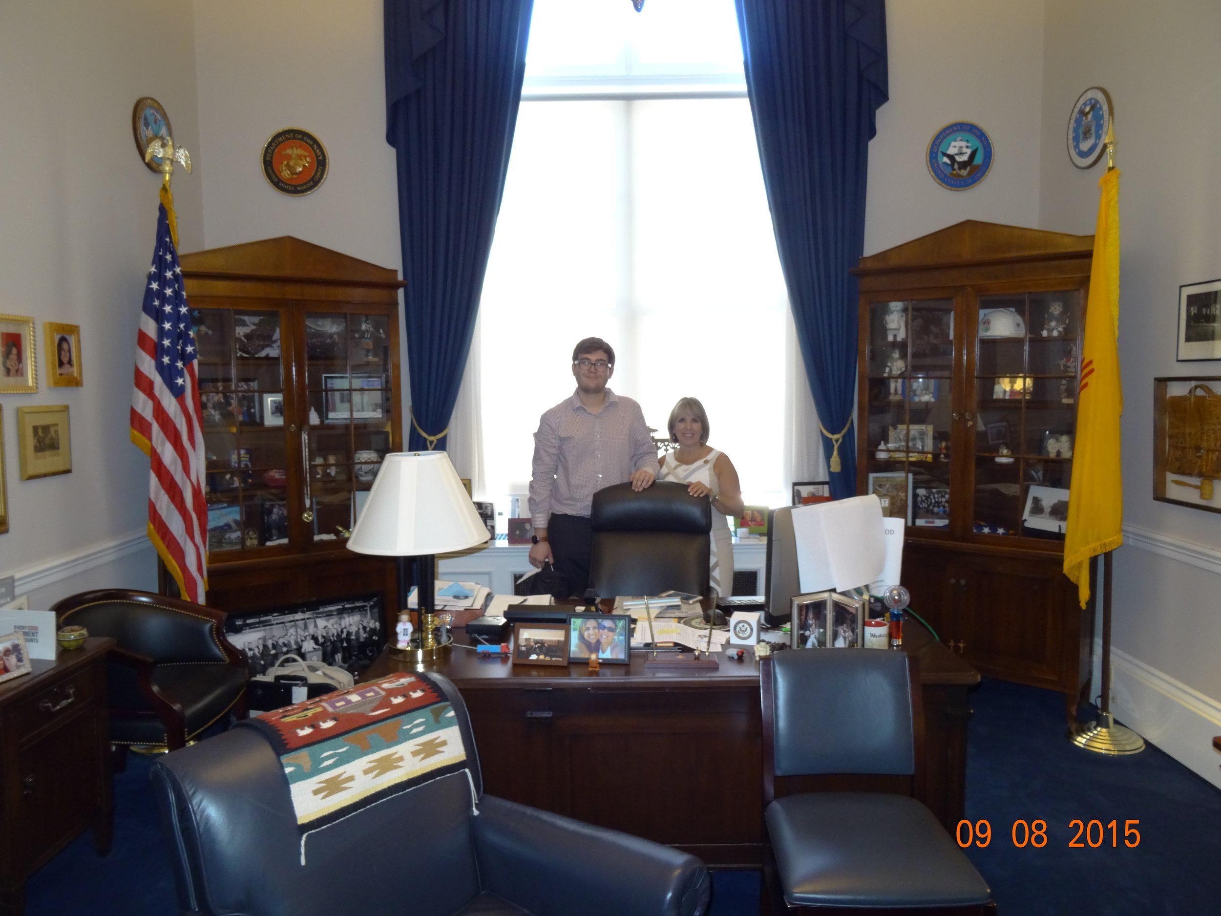 Meeting with Congresswoman Michelle Grisham
