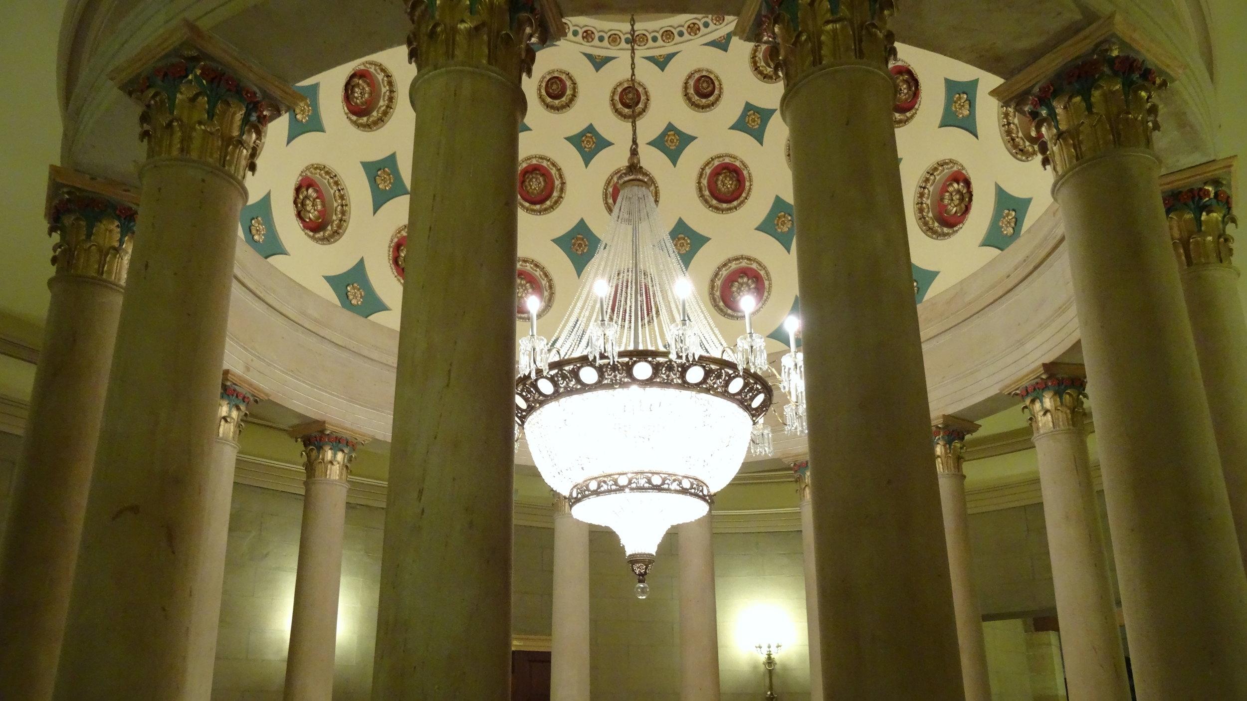 Senate Rotunda Chandelier