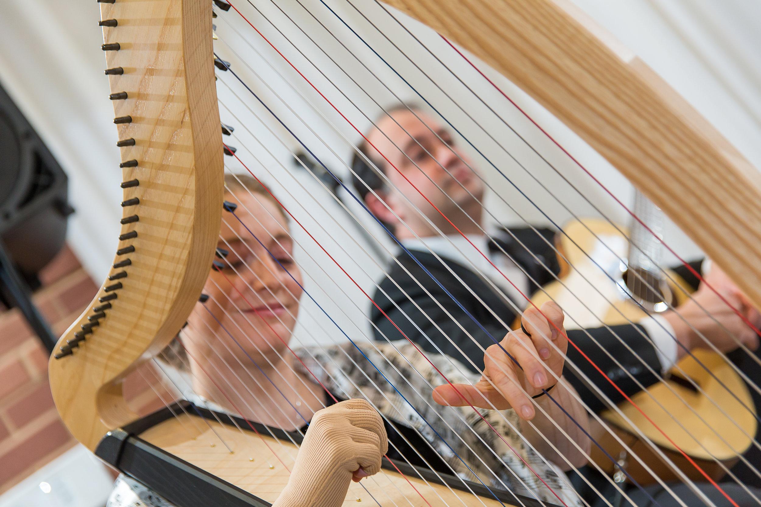 Steph and Bob playing for Hannah and Chris wedding.jpg