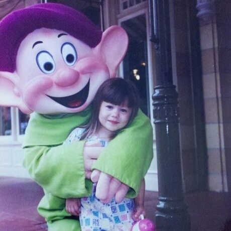 Kids Say the Darnest Things - *Note that the awkward child in the picture is actually a picture of myself at Disneyland'