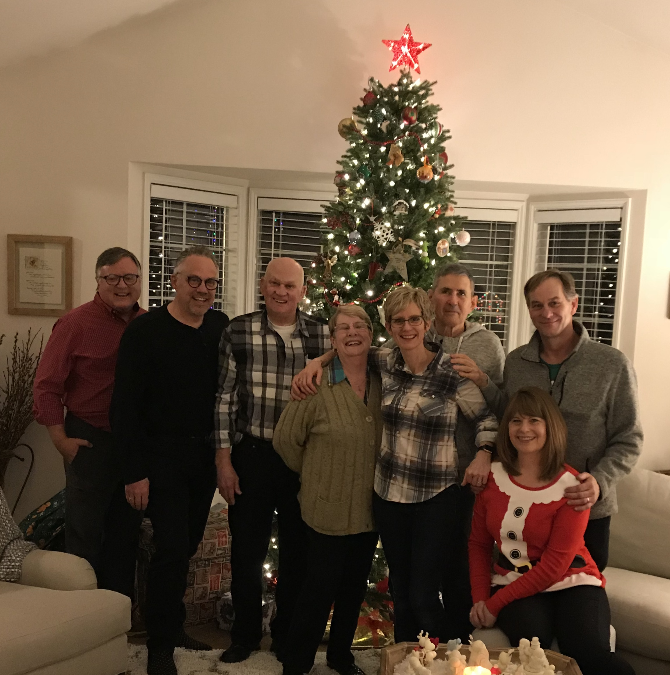 Peter, Terry, Dad, Mom, Tammy, Ray,Gary, and Venita