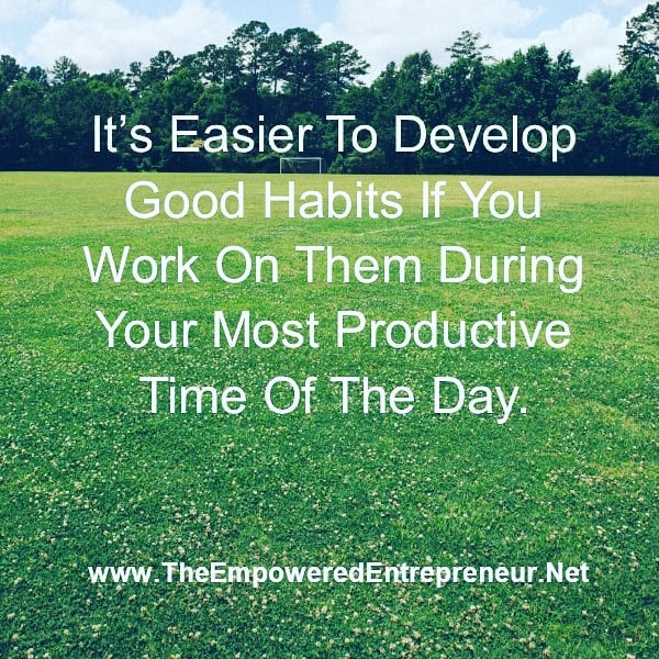 #good habits #productivityhacks