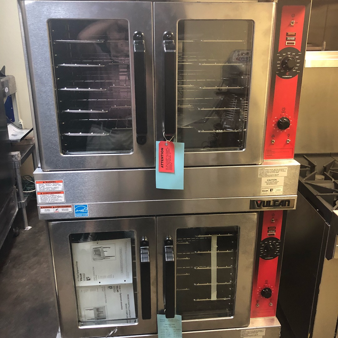 Double Deck Vulcan Convection Oven