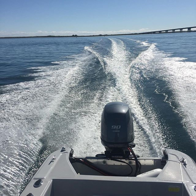 Its only Wednesday, but we're ready to leave this rainy week in the wake.  Like our new Barracuda 250?  DM or email me to arrange for a demo ride this Sunday.  @pangalovers @eduardono_  @yamahaoutboards #panga #pangaboat #pangalife #centerconsole #boat #ponquoguebridge #shinnecockbay #hamptonbays #hamptons #longisland #newyork